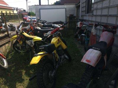 Wir kaufen Motorradsammlungen